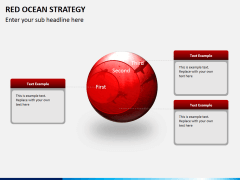 Red ocean strategy PPT slide 4