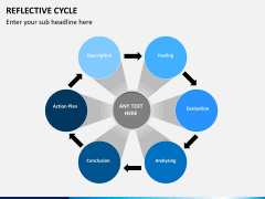 Reflective cycle PPT slide 8