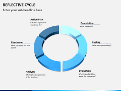 Reflective cycle PPT slide 9
