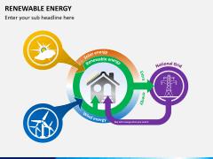 Renewable energy PPT slide 1