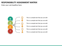 Responsibility assignment matrix PPT slide 13