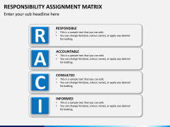 Responsibility assignment matrix PPT slide 2