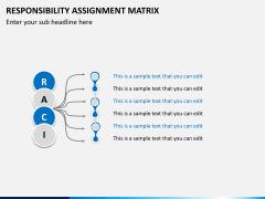 Responsibility assignment matrix PPT slide 4