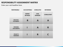 Responsibility assignment matrix PPT slide 7