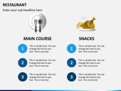 Restaurant PPT slide 3