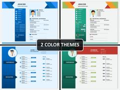 Marketing Icons PPT cover slide