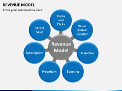 Revenue model PPT slide 3