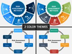 Risk assessment PPT cover slide