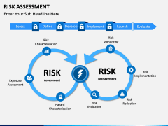Risk assessment PPT slide 3