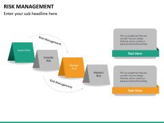 Risk management PPT slide 33