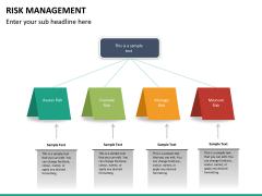 Risk management PPT slide 37
