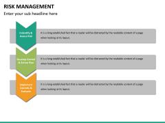 Risk management PPT slide 38