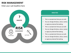 Risk management PPT slide 23