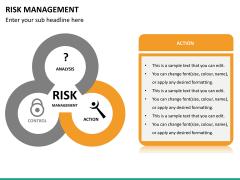 Risk management PPT slide 24