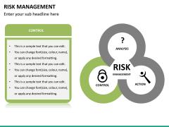 Risk management PPT slide 25