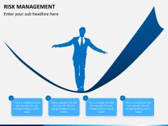 Risk management PPT slide 1