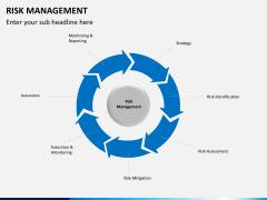 Risk management PPT slide 20