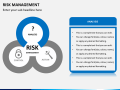 Risk management PPT slide 3