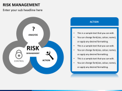 Risk management PPT slide 4