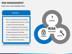 Risk management PPT slide 5