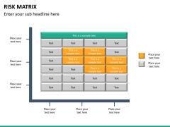 Risk matrix PPT slide 18