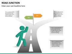 Road junction PPT slide 7