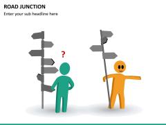 Road junction PPT slide 9