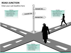 Road junction PPT slide 10