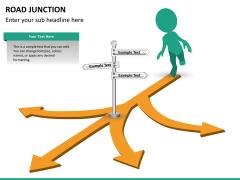 Road junction PPT slide 11