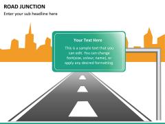 Road junction PPT slide 12