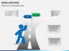 Road junction PPT slide 1