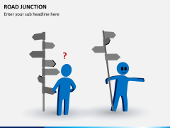 Road junction PPT slide 3