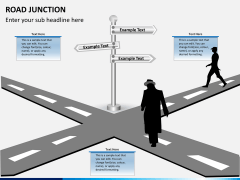 Road junction PPT slide 4