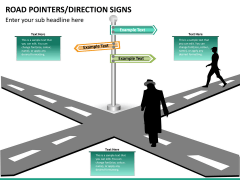 Road pointers PPT slide 11