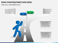 Road pointers PPT slide 8