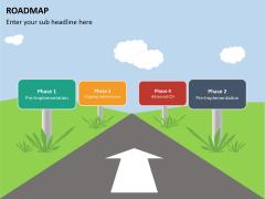 Roadmap PPT slide 36