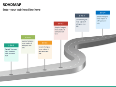 Roadmap bundle PPT slide 76