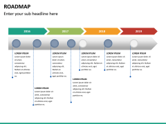 Roadmap PPT slide 22