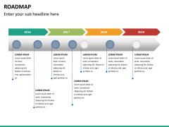 Roadmap bundle PPT slide 79