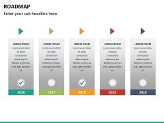Roadmap PPT slide 23