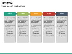 Roadmap PPT slide 24