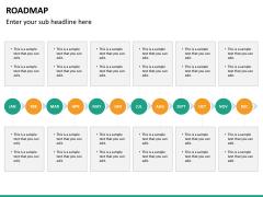 Roadmap PPT slide 25