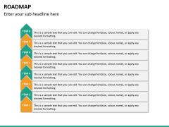 Roadmap PPT slide 26