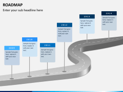 Roadmap bundle PPT slide 1