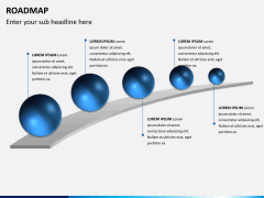 Roadmap bundle PPT slide 3