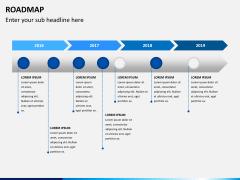 Roadmap PPT slide 4