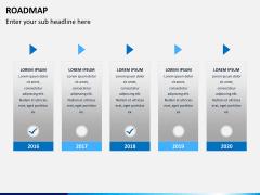 Roadmap bundle PPT slide 5