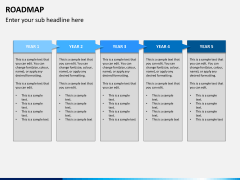 Roadmap bundle PPT slide 6