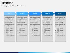 Roadmap bundle PPT slide 6