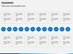 Roadmap bundle PPT slide 7